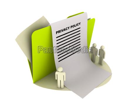 icono de politica de privacidad