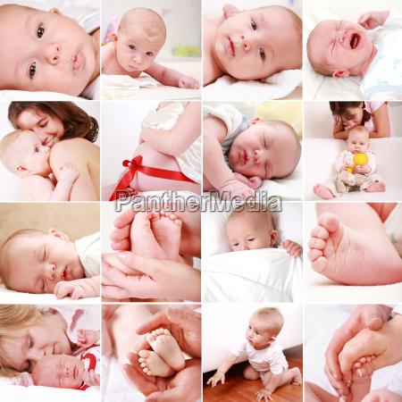 bebe y collage embarazo