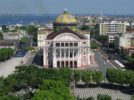 amazonas theater manaus brasil