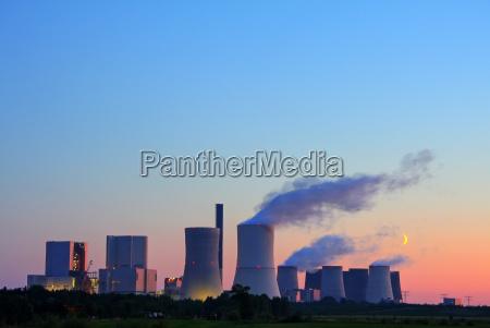 central electrica centrales termicas de carbon