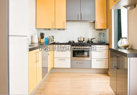 colorful modern kitchen horizontal
