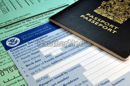 paseo viaje turismo visita pasaporte documento