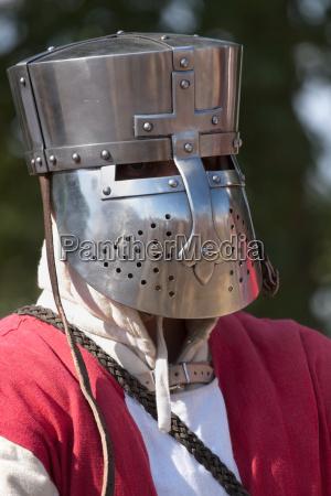 proteger caballero casco ropa de proteccion