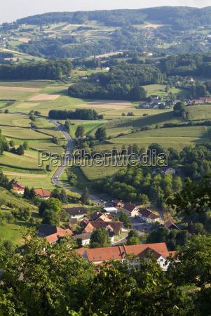 wine hills of styria