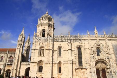 portugal monasterio muenster lisboa monastico