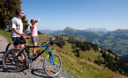 montanyas ciclista tirol ciclista de montanya