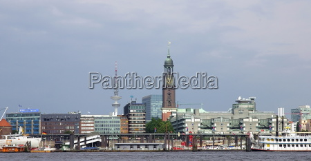 historico ciudad puerto hamburgo landungsbruecken puertos