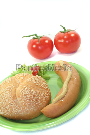 mostaza wiener rollo bockwurst ensalada salchicha