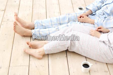 piernas de pareja