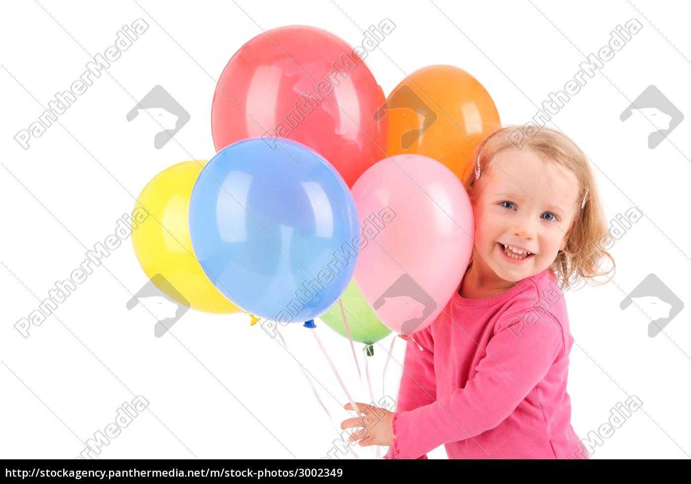 niño, con, los, globos - 3002349