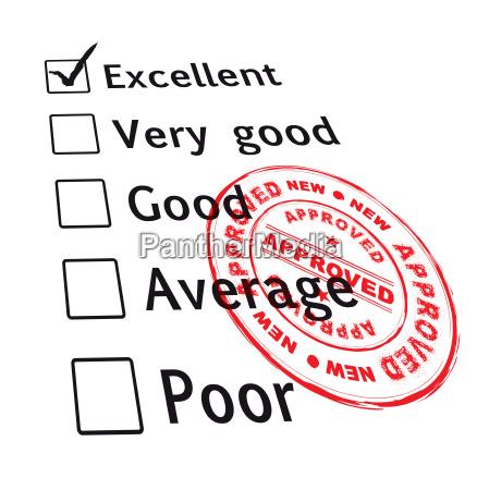 entrevista parabola evaluacion comparacion probado examen