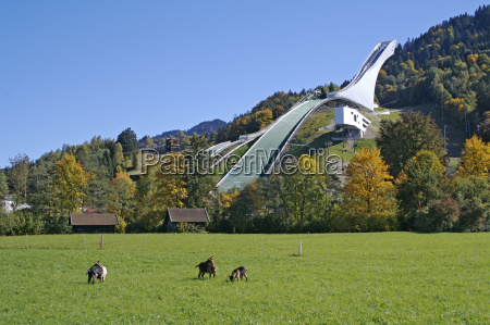 jump hill en garmisch partenkirchen