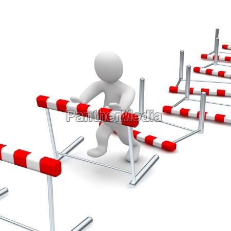 derribando obstaculos