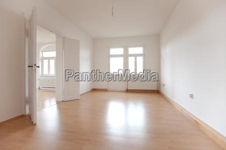 espacio vacio un apartamento viejo