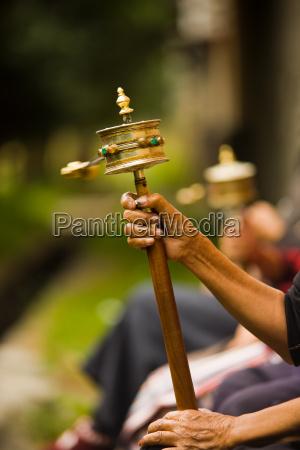 la oracion tibetano giro de la