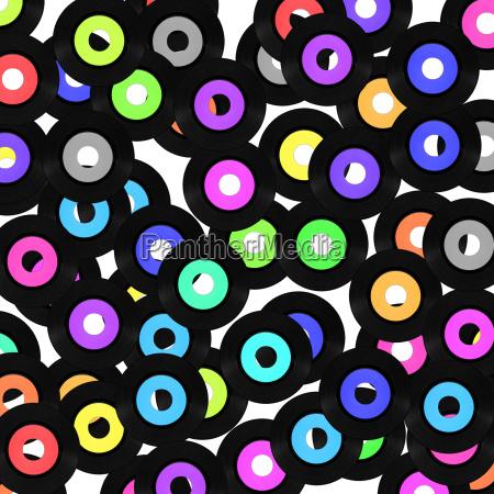 musica cosecha medio registro vinilo vendimia