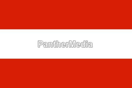 la bandera nacional de austria