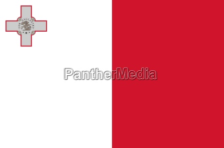 the national flag of malta