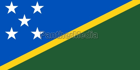 the national flag of solomon islands