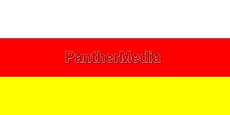 ilustracion bandera sur estado pais nacion