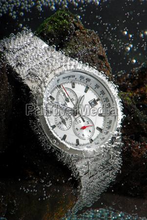 submarino reloj de pulsera inmersion buceo