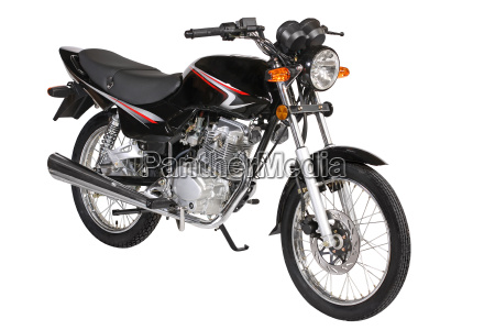 motocicleta negro