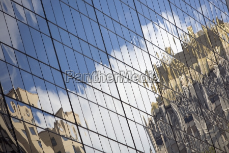 vidrio vaso ventana nube reflexion edificio