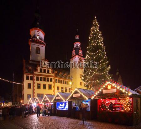 chemnitz mercado de navidad chemnitz