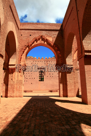 ancient mosque in morocco