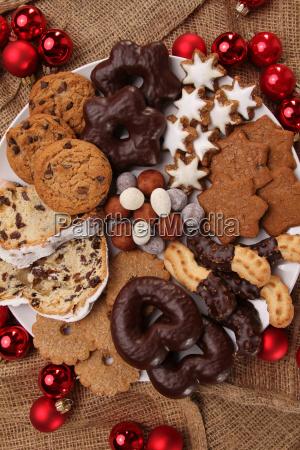 plato de navidad