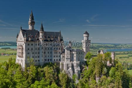 baviera emperador rey neuschwanstein castillo