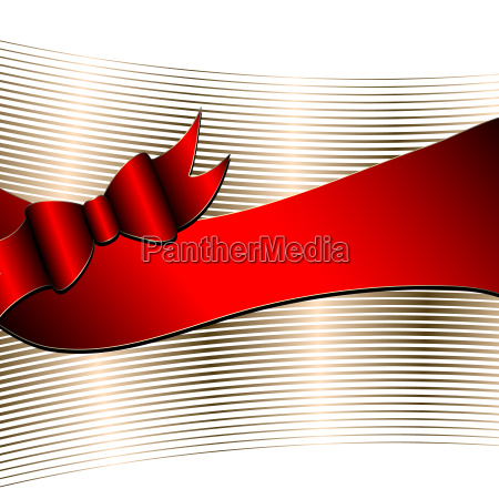 luxury background with ribbon