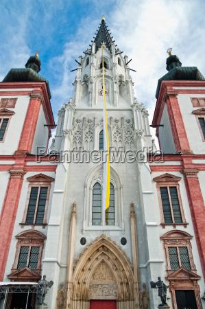 iglesia barroco austria lugar de culto