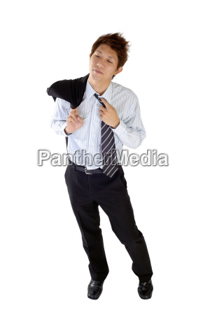 joven, ejecutivo, cansado - 4292477