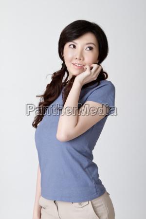 cute asian beauty