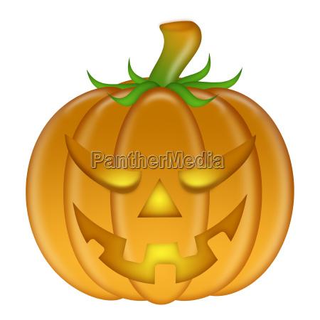 halloween brillo representacion calabaza arder sin