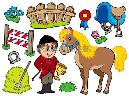 coleccion de caballos