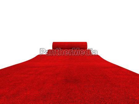 alfombra roja rodante