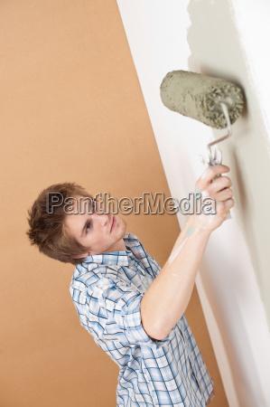 color pared pintura renovacion mejora monticulo