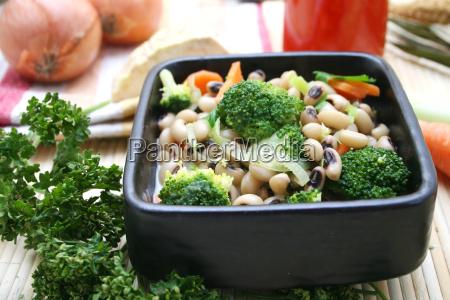 comida frijoles vegetal fresco