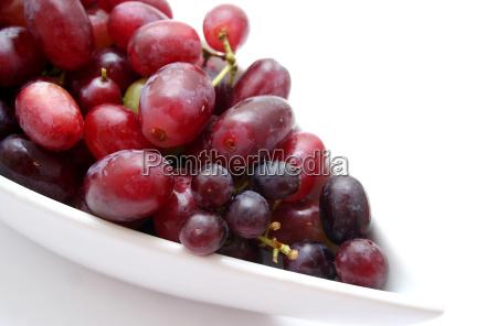 frutas fruta uvas uva rojo rebstock