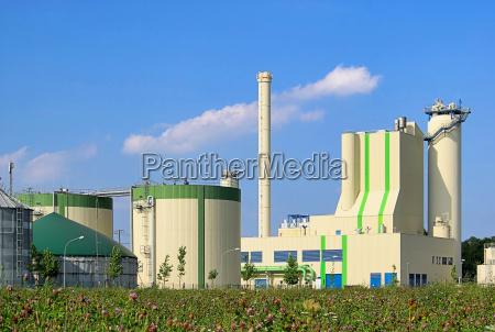 bio planta gas biogas biomasa