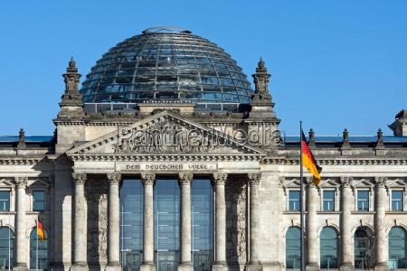 el reichstag en berlin