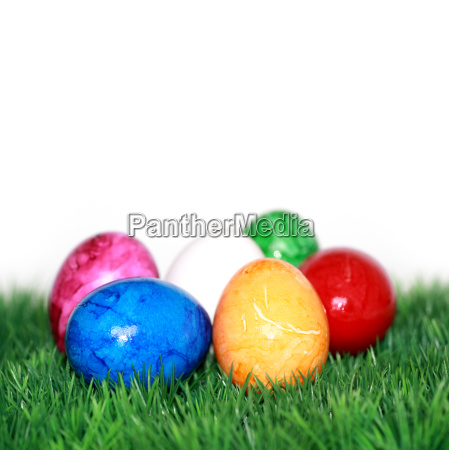 muchos huevos de pascua