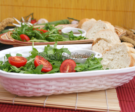 comida vegetal tomate ensalada