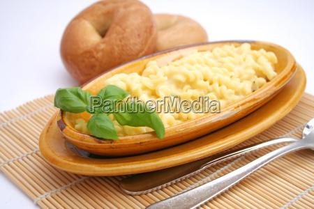 comida masa fideos queso vegetariano