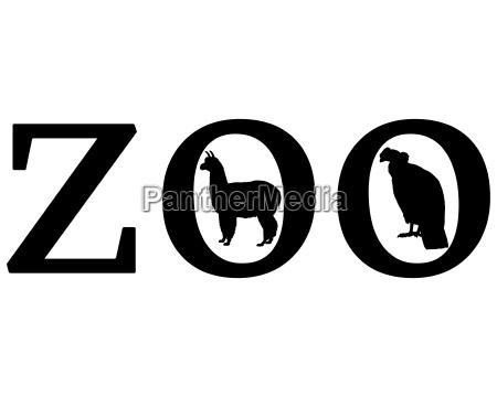 senyal opcional jardin grafico animal negro