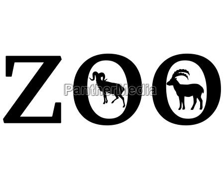 senyal opcional jardin grafico animal cabra