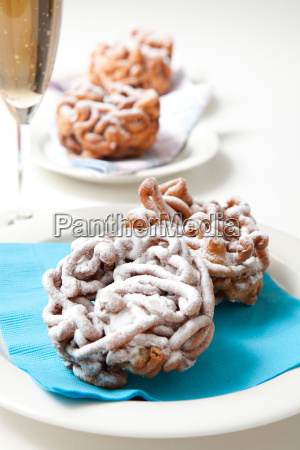 traditional finnish may day funnel cake