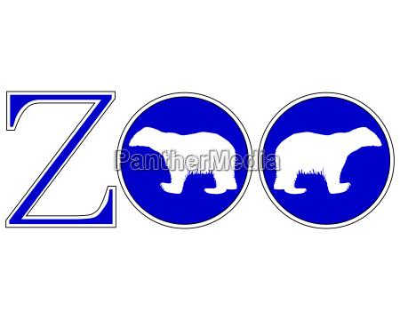 senyal azul opcional jardin grafico animal